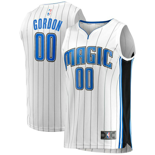 Camiseta nba Orlando Magic Association Edition Hombre Aaron Gordon 0 Blanco