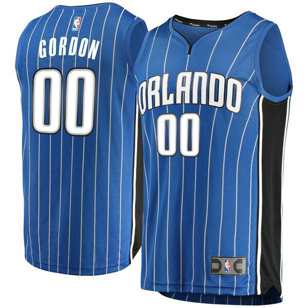 Camiseta nba Orlando Magic Icon Edition Hombre Aaron Gordon 0 Azul