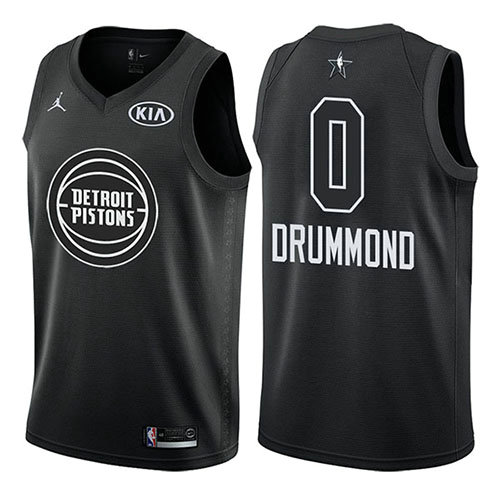 Camiseta nba All Star 2018 Hombre Andre Drummond 0 Negro