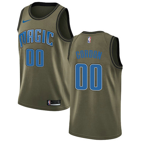Camiseta nba Orlando Magic 2018-2019 Hombre Aaron Gordon 0 verde