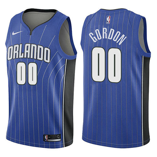 Camiseta nba Orlando Magic Icon 2017-18 Hombre Aaron Gordon 0 Azul