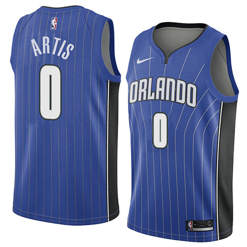 Camiseta nba Orlando Magic Icon 2018 Hombre Jamel Artis 0 Azul