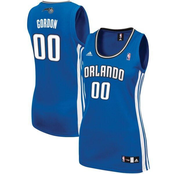 Camiseta nba Orlando Magic Réplica Mujer Aaron Gordon 0 Azul