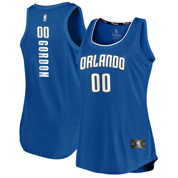 Camiseta nba Orlando Magic icon edition Mujer Aaron Gordon 0 Azul