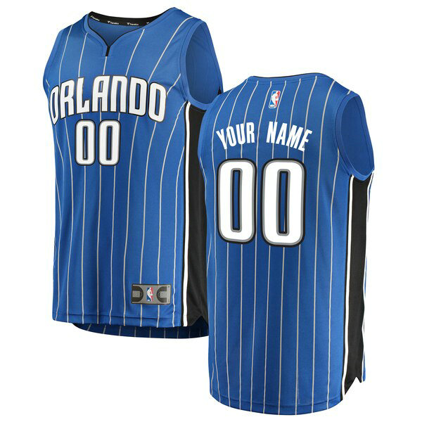 Camiseta nba Orlando Magic Icon Edition Hombre Custom 0 Azul