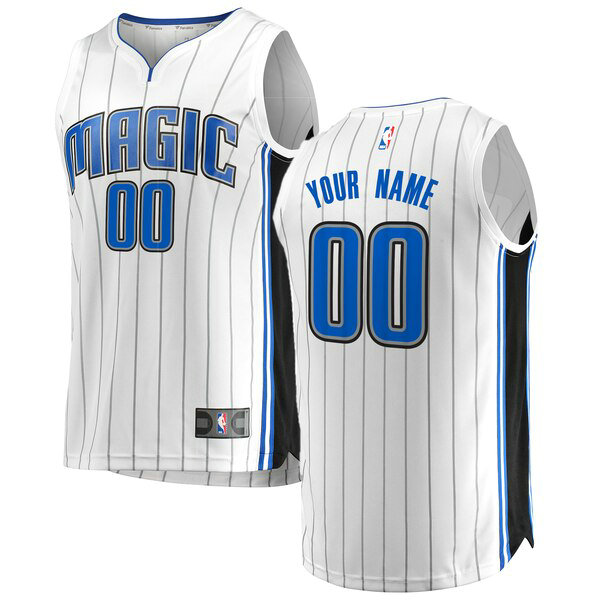 Camiseta nba Orlando Magic Association Edition Hombre Custom 0 Blanco