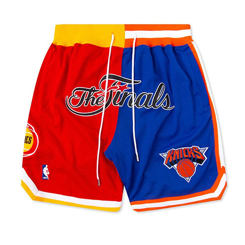 Pantalones Cortos nba Rockets VS Knicks Just Don 1994 Finals Hombre Rojo